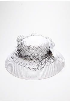 Giovannio Matte Braid Lampshade Hat