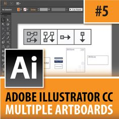 Welcome to episode #5 of my new Adobe Illustrator CC 2014 tips series where I will be doing all types of in-depth teachings about the program. In this video I will be going over how to set up multiple artboards in Adobe Illustrator CC 2014. Multiple artboards allow you to take one AI file and add a