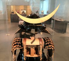Japanese armor of Mogamido haramaki type with helmet