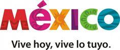 """México """"Cada una de las letras que conforman la palabra 'México' es un juego de colores y elementos gráficos que proyectan una parte de lo que es la esencia de México. Todo está ahí representado: el pasado prehispánico, la era virreinal, la fusión, el encuentro entre el sol y la luna, los trazos geométricos de la arquitectura del México moderno, la biodiversidad , el azul de los litorales y playas"""".  http://ideasfrescas.wordpress.com/2008/12/30/analisis-de-la-marca-mexico/"""