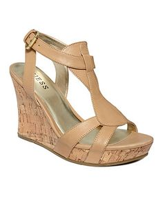 In need of a nude wedge for the summer. this could be a contender!