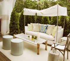 cute outdoor area!
