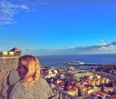 www.littlerugshop.com Another glorious winters day in Madeira. I know it maybe cold miserable where you but I just had to share this view with you of the bay of Funchal from the fort.... PS Plenty of affordable direct flights to Madeira from Europe. Hop onto @skyscanner now! by budgettraveller
