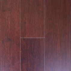 Santos Mahogany 0.35 in. Thickness x 5 in. Wide x Varying Length Engineered HDF Hardwood Flooring (20.01 sq. ft. / case)