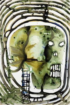 Barthélémy Toguo, 'Nuclear Destiny II,' 2015, Galerie Lelong