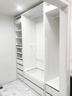 Ikea Closet Hack, Ikea Closet Organizer, Closet Hacks, Ikea Wardrobe Hack, Ikea Pax Hack, Closet Ideas, Closet Organization, Ikea Wardrobe Planner, Wardrobe Ideas