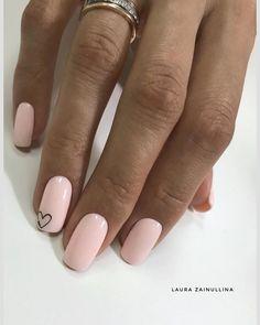 Pink Acrylic Nails, Nude Nails, Acrylic Nail Designs, Chic Nails, Stylish Nails, Pedicure Nails, Gel Nails, Subtle Nails, Classic Nails