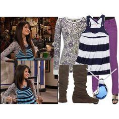 """Selena Gomez as Alex Russo"" by jc10 on Polyvore"