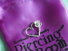 The most beautiful Goddess Flower Love Heart Cartilage / Rook / Daith Earring - Single    Listing : single    Material :  Sterling silver