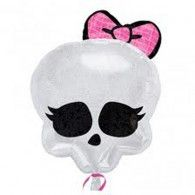 Buy Monster High Skull-Shaped Foil Balloon from Tiger Feet Party. Monster High Skull-Shaped Foil Balloon Whether you are a fan of Monster High, or Easy Party Decorations, Fun Party Themes, Balloon Decorations, Party Ideas, Disney Balloons, Mylar Balloons, Latex Balloons, Monster High Birthday, Monster High Party