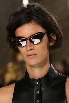 Sunglasses from the Louis Vuitton Spring-Summer 2018 Show by Nicolas Ghesquiere. Watch the show now at louisvuitton.com.