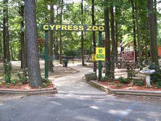 Cypress Zoo. Benton, LA.