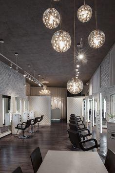 2014 NAHA finalist - Salon Design || HC Studio. Brookline, MA. Photographer: Chelsea Kyle || Paul Mitchell the School Cleveland || [via: http://probeauty.org/nahagallery/year/2014/salondesign/]