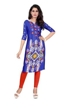speranza is one stop shop for all your daily need Short Kurti Designs, Printed Kurti Designs, Dresses For Work, Summer Dresses, Silk Crepe, Types Of Sleeves, Casual Wear, Clothes For Women, Stylish