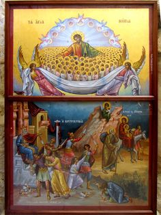 Icon of the Holy Innocents slaughtered by Herod