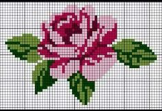 Nice embroidery stitch towel with pattern schema. Cross Stitching, Cross Stitch Embroidery, Embroidery Patterns, Hand Embroidery, Cross Stitch Charts, Cross Stitch Designs, Cross Stitch Patterns, Pixel Crochet, Tapestry Crochet