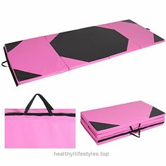 85fcca241e62 4 x10 x2″ Gymnastics Gym Folding Exercise Aerobics Mats Stretching Yoga Mat