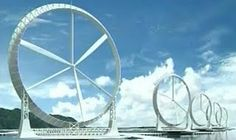 Japanese researches design wind turbines up to three times more efficient than the current ones...