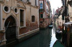 San Polo area in Venice by pisanim, via Flickr