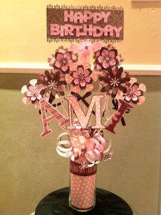 Birthday Centerpiece for Ami