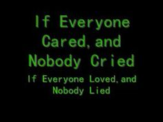 nickelback-if everyone cared lyrics- album; album is fight for all the right reasons