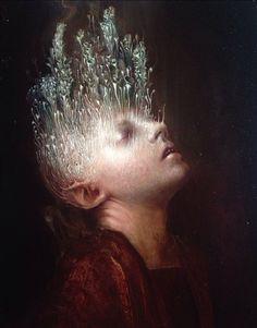 Dark paintings by Agostino Arrivabene Art Visionnaire, Eugenia Loli, Dark Paintings, Surrealism Painting, Arte Horror, Wow Art, Leonardo, Visionary Art, Surreal Art