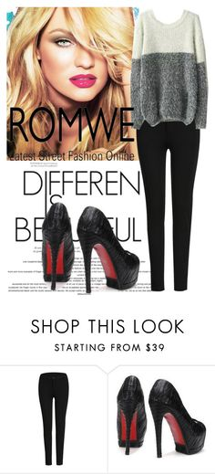"""""""Romwe"""" by elmaman ❤ liked on Polyvore"""