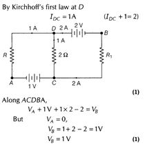 Current Electricity Important Questions for CBSE Class 12 Physics Kirchhoff's Laws and Electric Devices Algebra Formulas, Physics Formulas, Physics Experiments, Physics Projects, Theoretical Physics, Physics And Mathematics, Engineering Notes, Electrical Engineering, Electronic Engineering