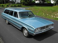 1966 Dodge Coronet 440 Wagon For Sale Front Carol Brady drove a very similar one but a bit newer.