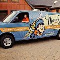 Award winning retro brand identity and truck wrap design for a Utah based heating and air conditioning contractor.