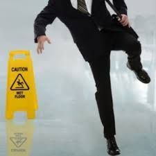 According to the Occupational Safety and Health Administration (OSHA,) the majority of industrial injuries and 15% of all workplace accidental deaths are the result of trip, slip and fall accidents. OSHA has set specific safety standards and guidelines that employers must follow in order to protect workers from trip, slip and fall accidents. Workers who are injured in slip and fall accidents at work cannot sue their employers, but they can file a