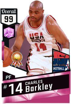 Charles Barkley pinkdiamond card