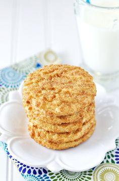 Lemony Snickerdoodle Sugar Cookie Recipe: Naughty & Nice  from @Jennifer Leal