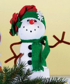 Clay Pot Snowman (michaels.com)