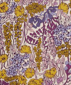 Liberty Art Fabrics Tiny Poppytot C Tana Lawn Cotton Textiles, Textile Prints, Textile Patterns, Flower Patterns, Print Patterns, Liberty Art Fabrics, Liberty Of London Fabric, Liberty Print, Illustrations
