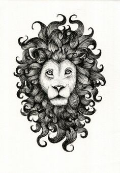 A print that epitomizes #manegoals. | 24 Awesome Products For Anyone Who Is Obsessed With Lions