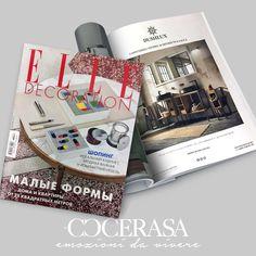 Elle Decoration Russia - Febbraio 2018 #press #release #magazine #newspaper #russia #elledecor #decor #design #bathroom #cerasa
