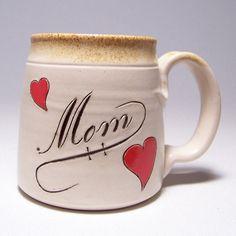 Mom Pottery Coffee Mug