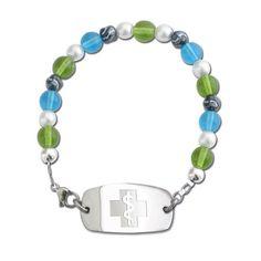 Pretty Medical Alert Bracelet