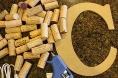 Growing Up Gardner: Wine Cork Letter