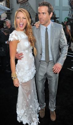 Blake Lively And Ryan Reynolds. Most beautiful couple on Earth