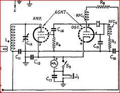 6SN7 QRP Transmitter