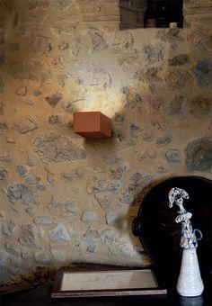 Wall spots, white or engobed ceramic - Allegro Series Aldo, Wall Lights, Ceramics, Technology, Lighting, Interior, Home Decor, Ceramica, Tech
