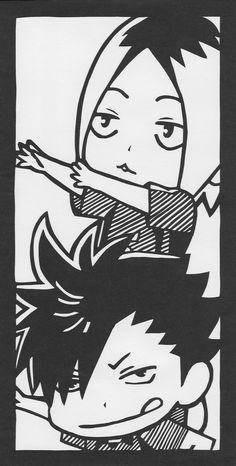 「切り絵 「黒尾鉄朗&孤爪研磨」」/「いつき」のイラスト [pixiv]