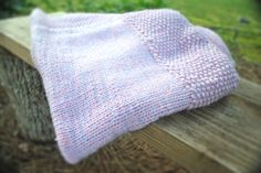 Knitted baby blanket handmade baby blankets pink lilac hand knit blanket baby products handmade baby bedding baby easy knits products baby - pinned by pin4etsy.com