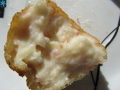 croquetas de bacon y queso con thermomix, croquetas con thermomix,