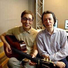 Yoshiro Nakamura & Takao Ogawa at InterFM studio