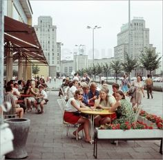 Poster DDR - Berlin Mokka-Milch-Eisbar 1969