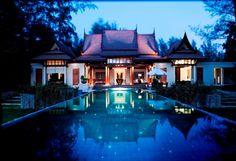 Double Pool Villa at 5 star hotel: Banyan Tree Phuket. This hotel's address is: 33 Moo 4 Srisoonthorn Road Cherngtalay Bang Thao Phuket 83110 and have 135 rooms Phuket Thailand, Villa Phuket, Villa Pool, Thailand Vacation, Phuket Hotels, Thailand Travel, Beautiful World, Beautiful Homes, Nature