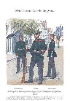 Band X #11 - Sachsen-Meiningen: Herzoglich Sachsen-Meiningisches Infanterie-Rgt. 1862.
